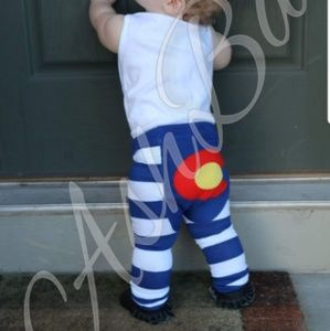 Colorado Flag Doodle Pants